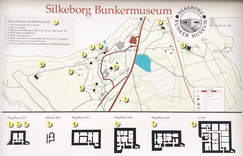 Silkeborg bunkermuseum, bunker museum silkeborg, seværdigheder i Silkeborg, Oplevelser i Silkeborg,