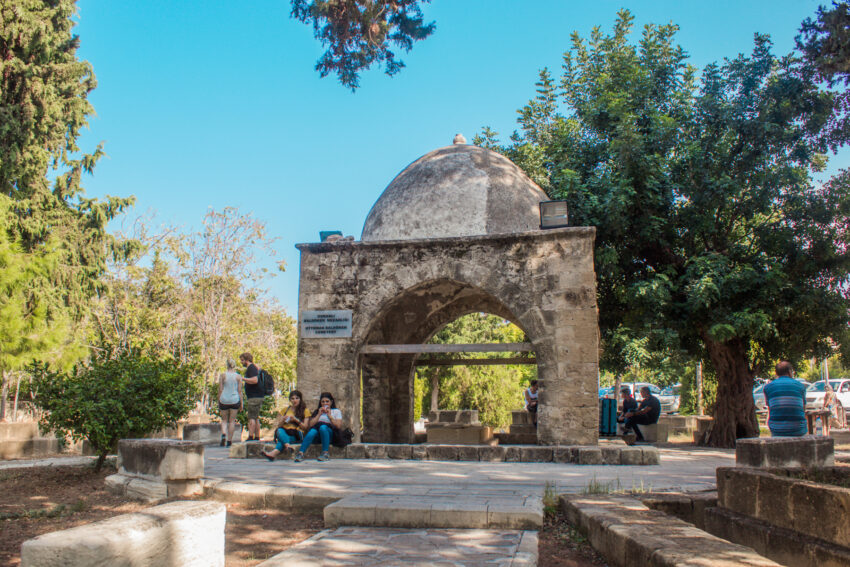 Baldöken Ottoman Cemetery, Parker i girne, park i Kyrenia, seværdigheder på Nordcypern, Seværdigheder i Girne, Seværdigheder i Kyrenia, hvad kan man lave på Nordcypern, Seværdigheder på Cypern, Cypern guide