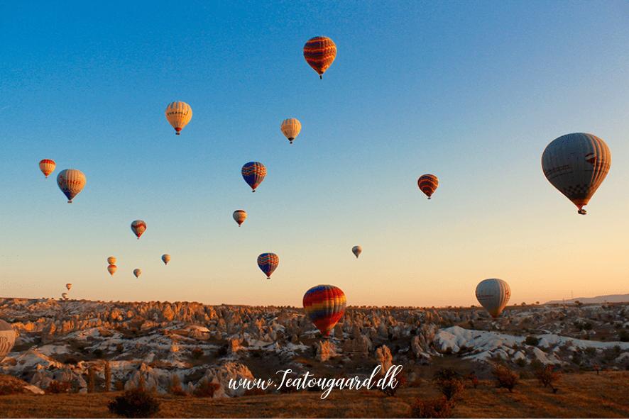 Luftballon i Tyrkiet, Cappadocia luftballon, luftballon Tyrkiet, oplevelser i cappadocia, hvor kan man flyve i luftballon,