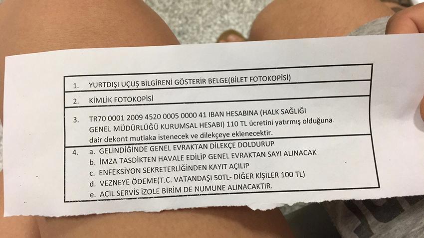 corona tyrkiet, rejser til Tyrkiet, rejser til Danmark fra Tyrkiet, coronatest alanya, alanya corona test