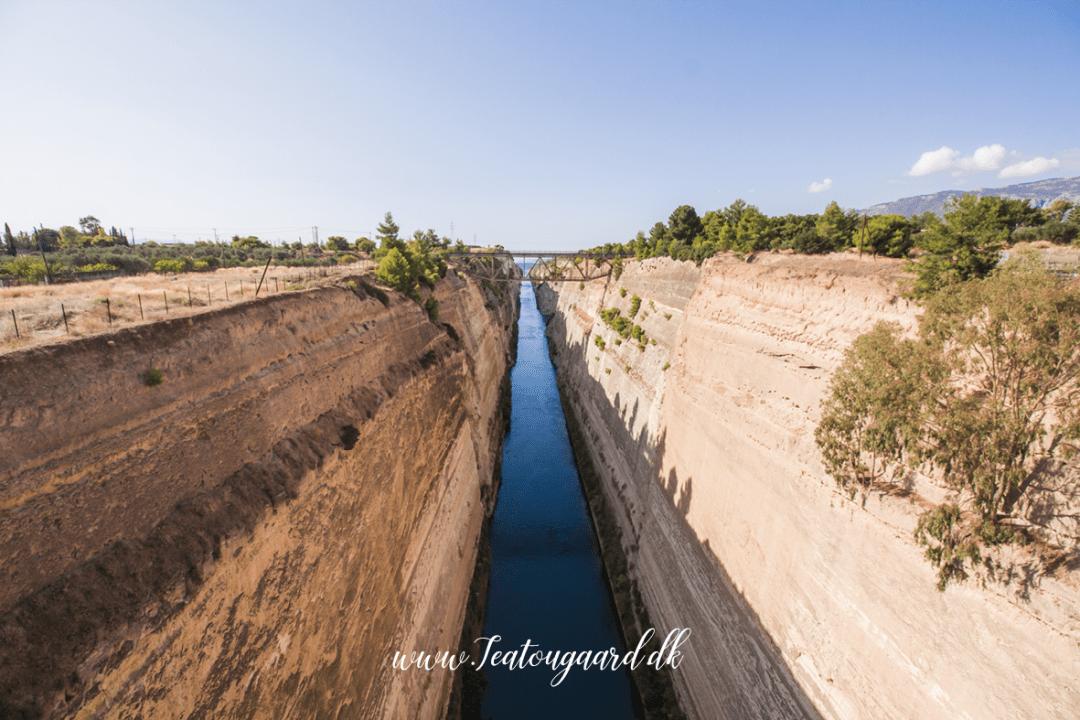 Korinthkanalen, Korinth kanalen, kanal i grækenland, græsk halvø, kanal i Grækenland