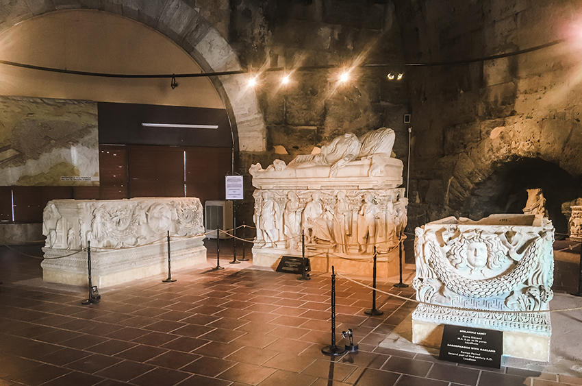 Pamukkale Arkælogisk museum, Arkælogisk museum Pamukkale, Tyrkiet arkæologiske museum, museer i Tyrkiet, Tyrkiske museer