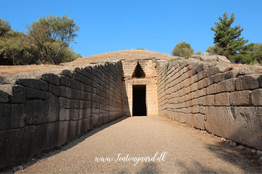 mykene, mykene museum, tholograv, kupplegrav, agamemnon´s grav, historiske steder i grækenland, de mest historiske steder i Grækenland