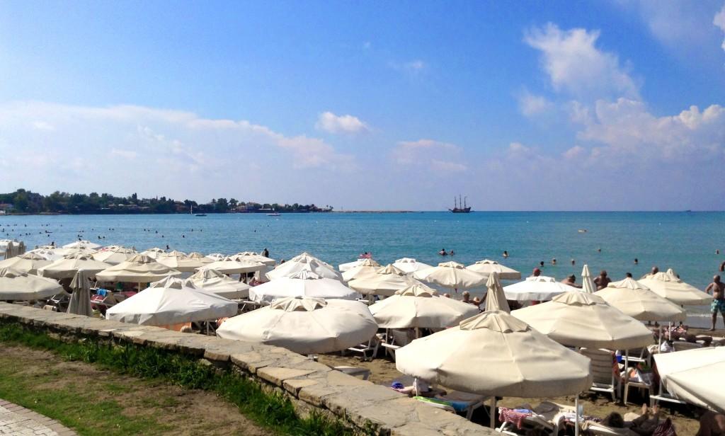 Side strand, strande i Side, de bedste strande i Tyrkiet, strande i Tyrkiet, oplevelser i Side, seværdigheder i Side