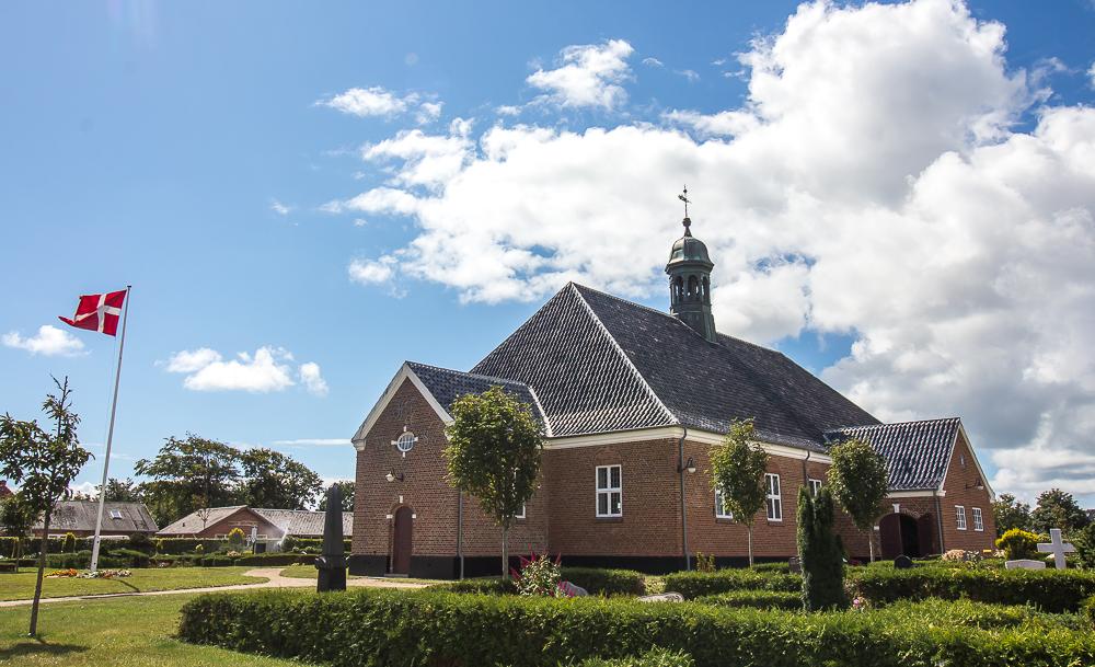 Nordby kirke, Nordby Kirken, kirke i Nordby, Fanø kirke, kirke på Fanø, unikke danske kirker, danske kirker, specielle danske kirker