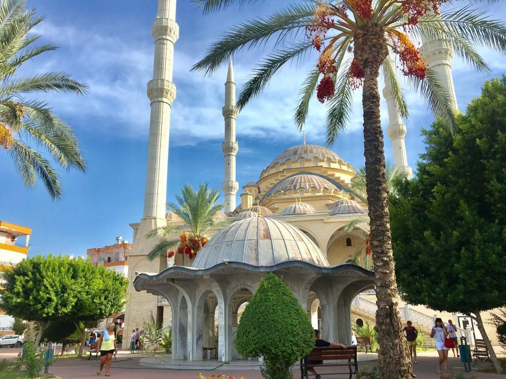 Manavgat moskéen, moské i Tyrkiet, Stor mokséen i Manavgat, oplevelser i Manavgat, seværdigheder i manavgat