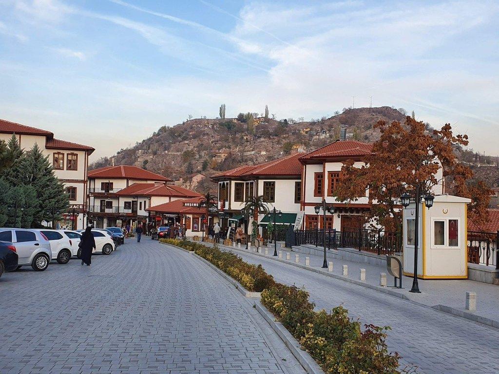 Ankara Kaleici, den gamle bydel i Ankara, oplevelser i Ankara,