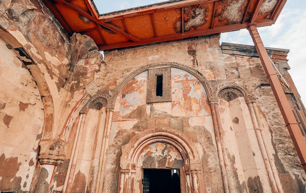 The Church of Saint Gregory of Tigran Honents, kirker i Ani, Armenske kirker i tyrkiet, kirker i Tyrkiet, unesco steder i Tyrkiet, Frescoer, fresco malerier, armenske fresco malerier, Museum i Tyrkiet, Kars i Tyrkiet, øst Tyrkiet