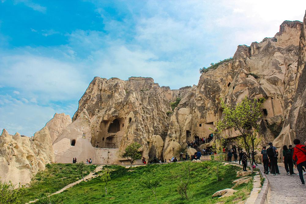 Göreme open air museum, museer i cappadocia, Unesco Tyrkiet, steder du skal se i Kappadokia, kappadokia seværdigheder, seværdigheder i cappadocia