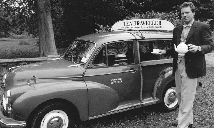 Nostalgische Foto Van De Tea Traveller