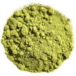 Powdered Sencha green tea
