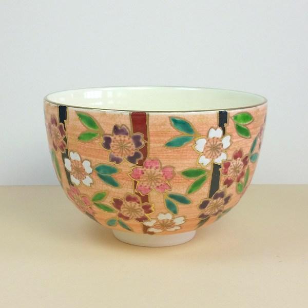Colorful Sakura Matcha Bowl