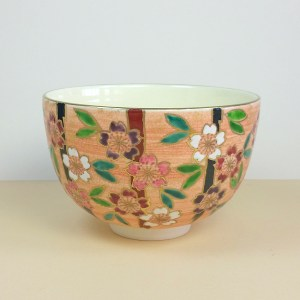 Colorful Sakura Matcha Bowl
