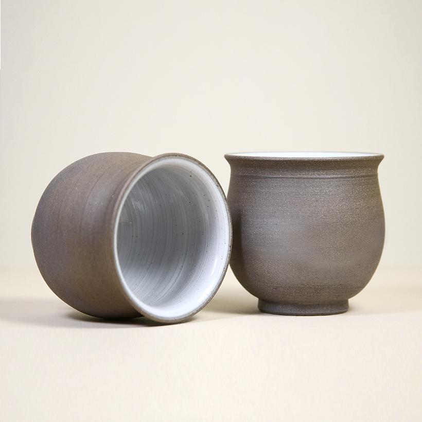 Tokoname Bell-Shaped Teacups