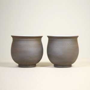 Tokoname Bell-Shaped Teacups