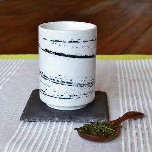 Sumi Brushstroke Teacup #2