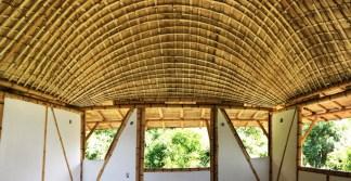 CENIT Arte Natura - Bamboo Roof