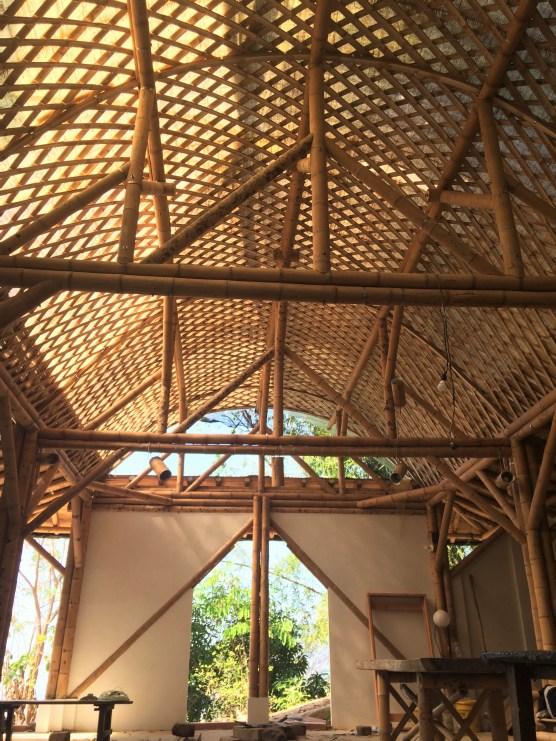 Arquitectura en Bamboo de CENIT Theater