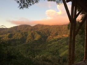 Atardecer en la Sierra Nevada de Santa marta, Minca, Colombia, 2020.