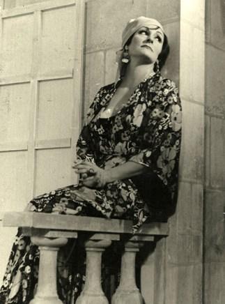 """Lola Vilar en """"Dos Docenas de Rosas"""". (Foto: Archivo)"""