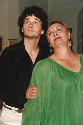 """Lola Vilar en la obra """"Diplomado en Castidad"""". (Foto: Archivo)"""