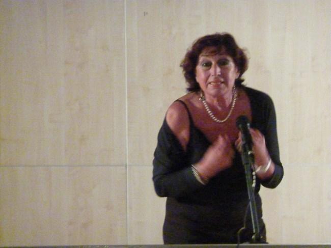 Graziella Corsinovi - Collettivo di poeti all'Auditorium di Strada Nuova