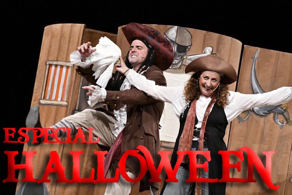 LOS PIRATAS ATACAN EN HALLOWEEN – Especial Halloween – Sala Petxina