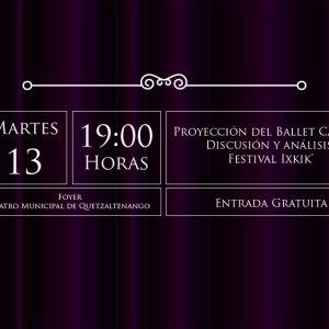 Proyección del Ballet Carmen