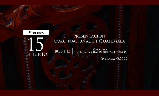 Presentación Coro Nacional de Guatemala