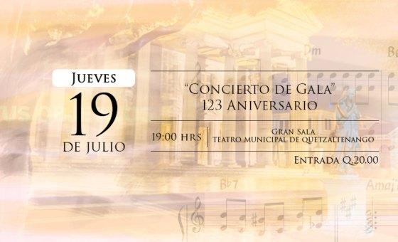 Concierto de Gala 123 Aniversario