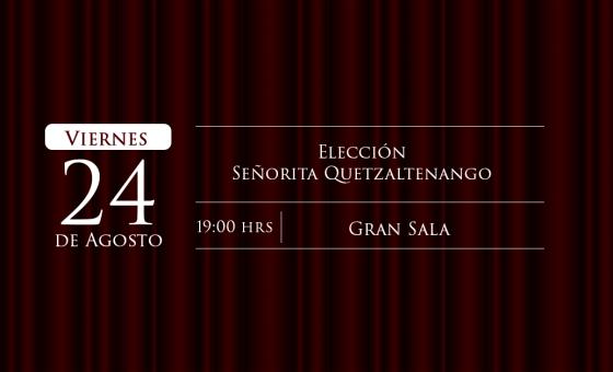 Elección Señorita Quetzaltenango
