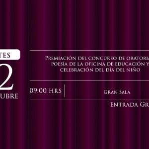 Premiación Concurso de Oratoria