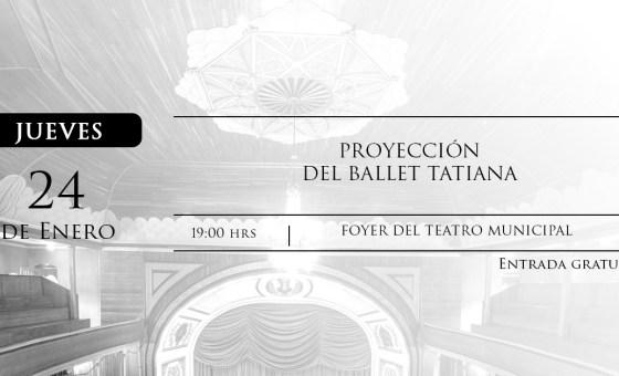PROYECCIÓN DEL BALLET TATIANA