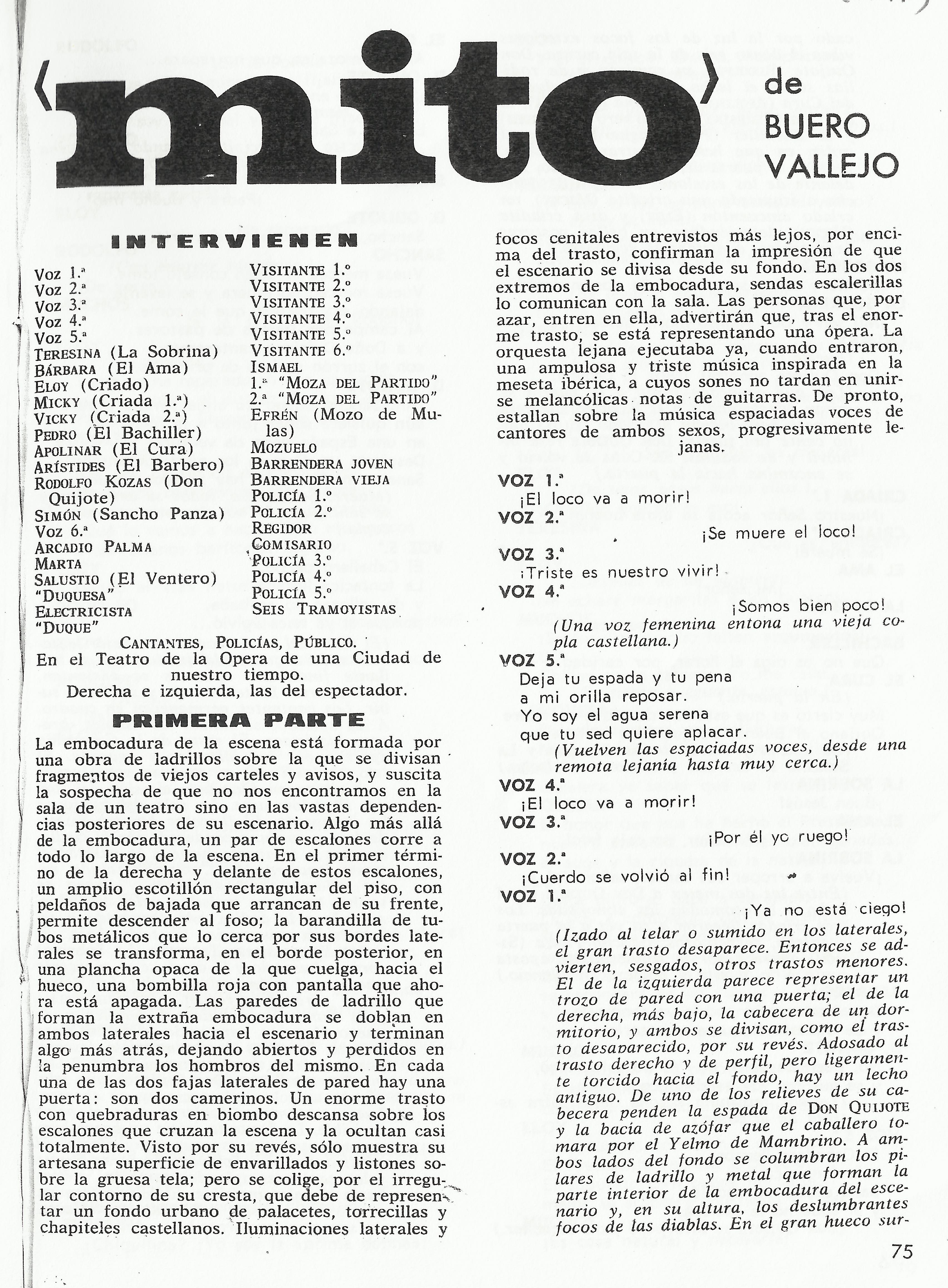 Biografia De Antonio Buero Vallejo