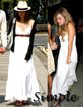 maxi dress- keira knightley+lauren conrad