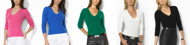 RL sweaters
