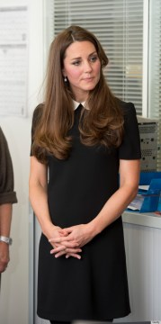 Fashion   Tea with BG The Duke And Duchess Of Cambridge Visit Child Bereavement UK