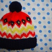 Retro Fair Isle Boys Hat