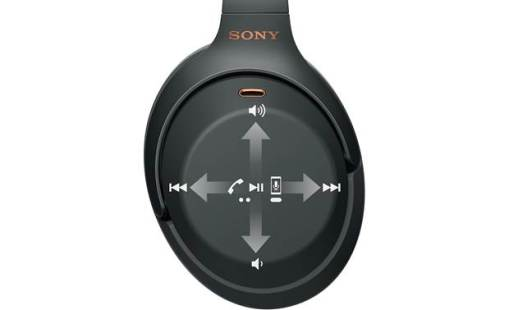 Sony WH-1000XM3 controles