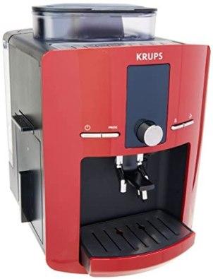 Cafetera Espresso Krups Automatica Roja