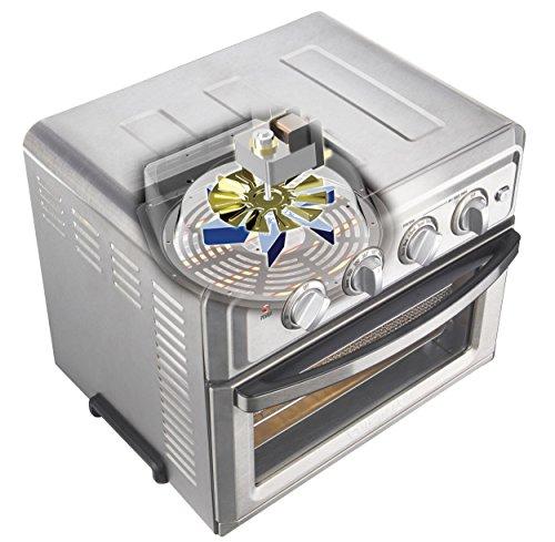 1619664629 501 Cuisinart TOA 60 freidora de aire Horno tostador de aire Plateado