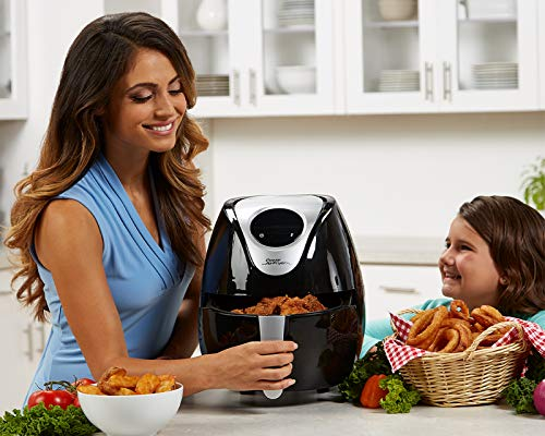 Power Tristar Products PAFB-3.4 Air Fryer XL, Negro, 3.4 qt. - Cantidad 1 7