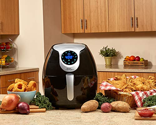 Power Tristar Products PAFB-3.4 Air Fryer XL, Negro, 3.4 qt. - Cantidad 1 5