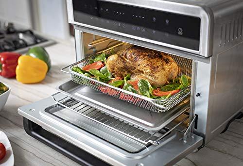 Freidoras Aria Air ATO-898 Freidora de aire para horno tostador, 30 qt, acero inoxidable cepillado 2