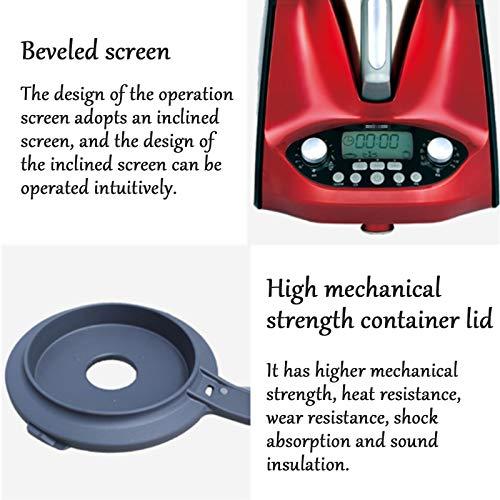 HXXXIN Máquina De Cocción Inteligente Multifuncional, para Cocinar Al Vapor, Freír, Guisar, Olla De Cocción Automática Adecuada para Estudiantes Internacionales Y Trabajadores De Cuello Blanco, Red 5