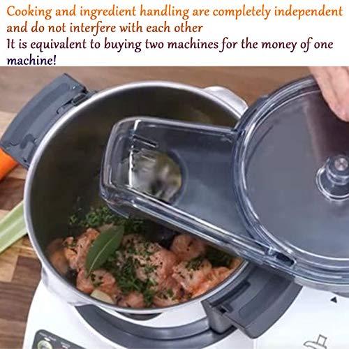 Robot De Cocina Inteligente, Máquina De Cocinar Multifunción para El Hogar Y Máquina De Fideos, Procesador De Alimentos Todo En Uno, Máquina De Arroz Frito 3