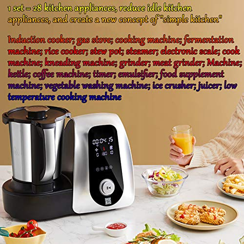 Máquina De Cocción Automática para El Hogar, Robot De Cocción Inteligente, Máquina De Cocción Multifunción, Cocción Al Vapor, Freír, Freír, Guisar 2