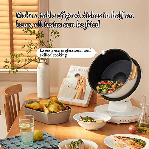 HXXXIN Máquina De Cocción Inteligente Multifuncional para Cocinar Al Vapor, Freír, Guisar Y Freír para Satisfacer Todas Las Necesidades. Máquina De Cocción Doméstica Completamente Automática 7