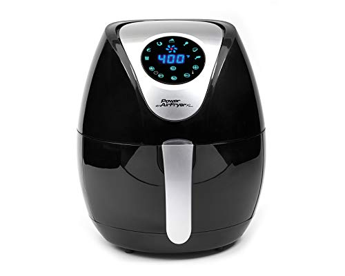 Power Tristar Products PAFB-3.4 Air Fryer XL, Negro, 3.4 qt. - Cantidad 1 1