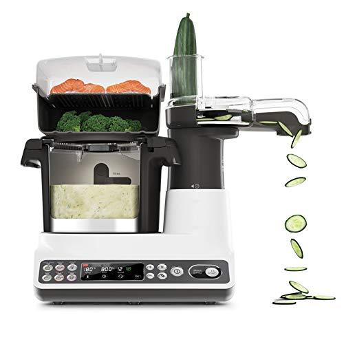 Robot De Cocina Inteligente, Máquina De Cocinar Multifunción para El Hogar Y Máquina De Fideos, Procesador De Alimentos Todo En Uno, Máquina De Arroz Frito 1